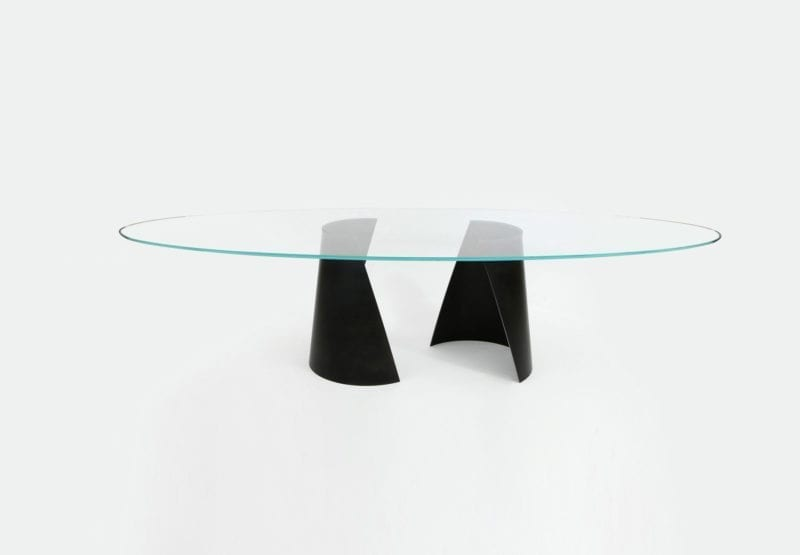 Serra Dining Table by Nada Debs - The Invisible Collection