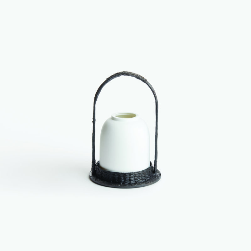 The Invisible Collection Fable Des Etagand Candle Holder small by Creations Dragonfly
