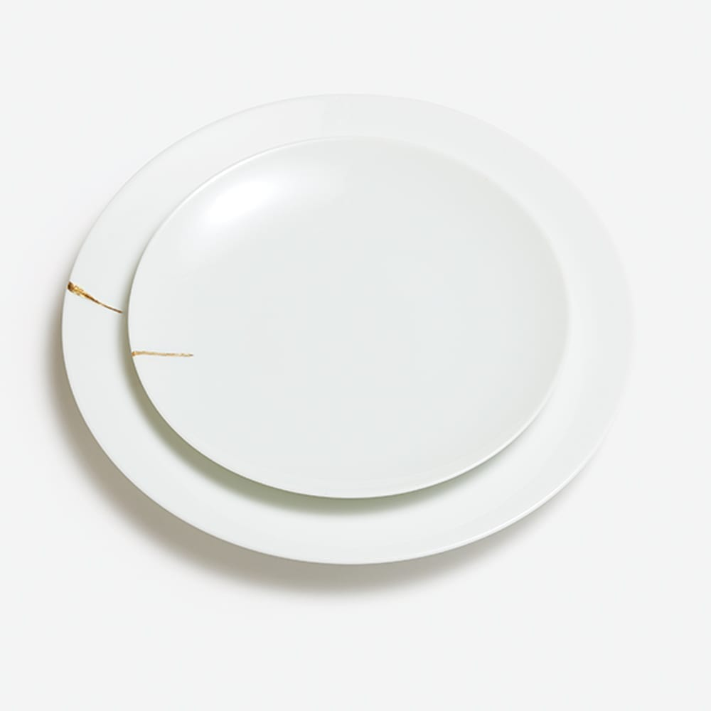 The_Invisible_Collection_Creations_Dragonfly_Assiette_Kintsugi_Charentais_L