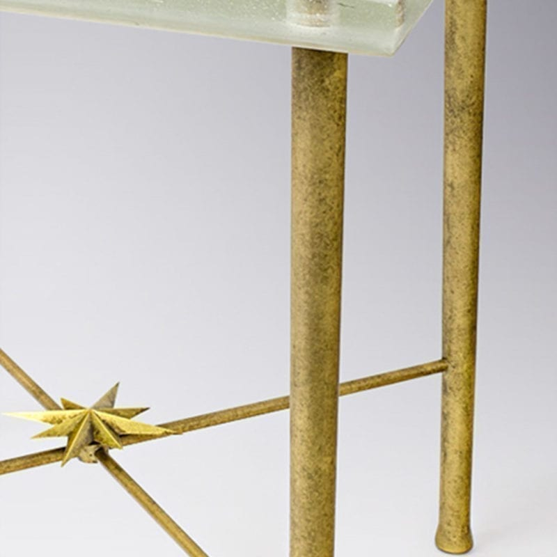 The Invisible Collection Side Table Etoile Jérôme Faillant Dumas
