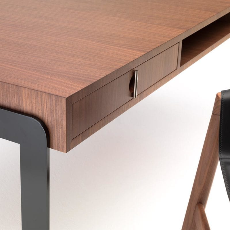 The Invisible Collection Lio Desk David Haymann walnut noyer oak chêne