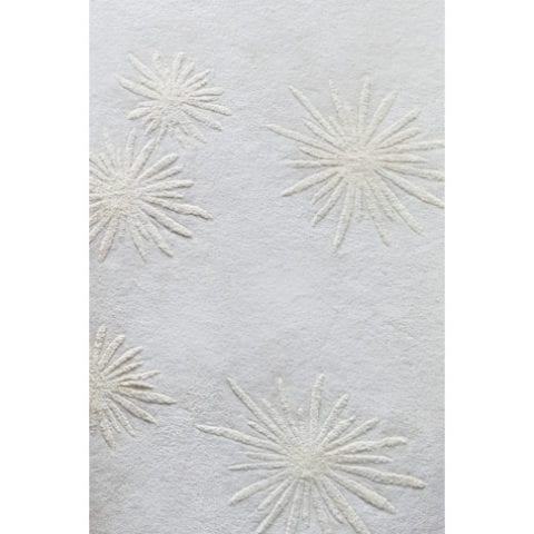 White Sun Rug by Damien Langlois-Meurinne - The Invisible Collection