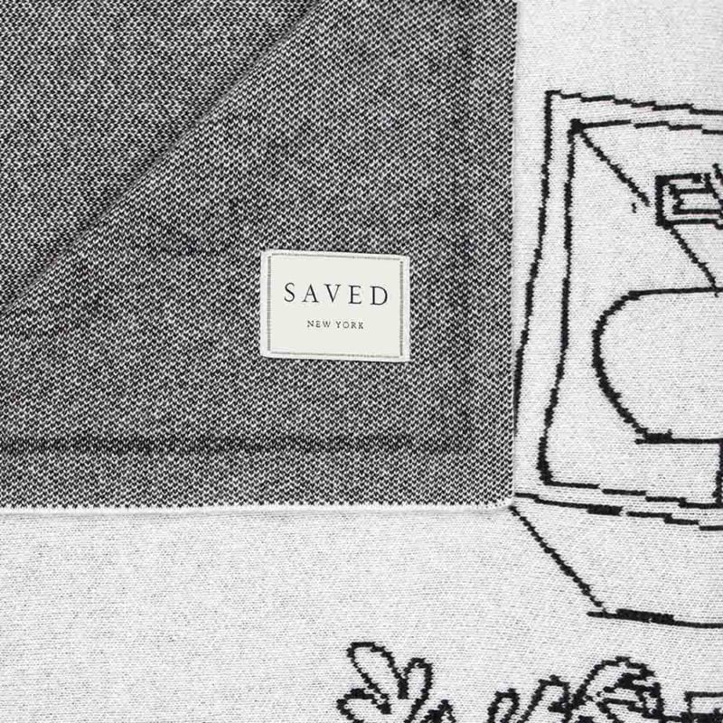 The Invisible Collection Vincent Darré Plaid Saved Cachemire SAVED new york Dessins