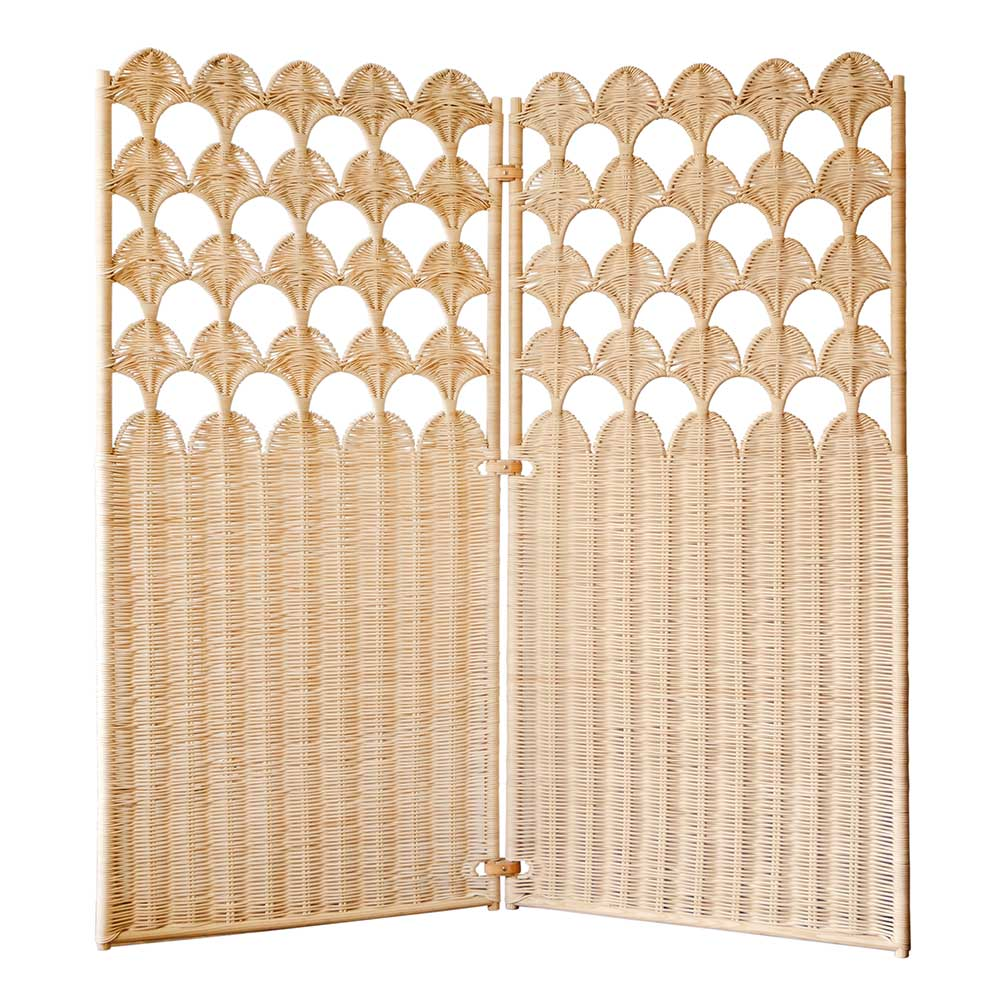 The Invisible Collection Fish Scale Folding Screen Atelier Vime