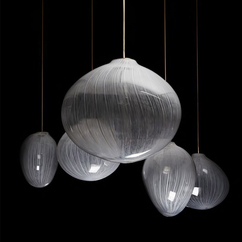 The Invisible Collection Winter Light Chandelier Jeremy Maxwell