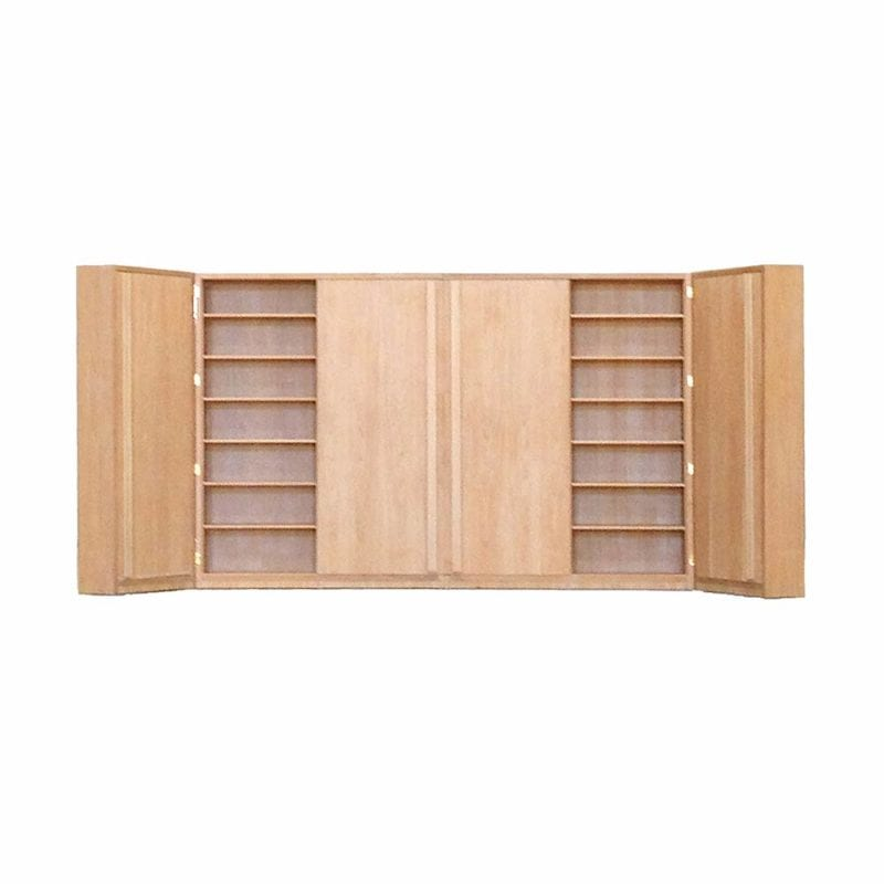 The Invisible Collection Folded Bookcase Serge Castella