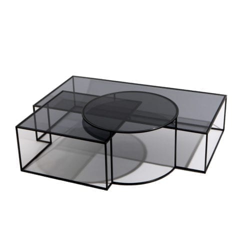 The Invisible Collection Geometrik Coffee Table Nada Debs