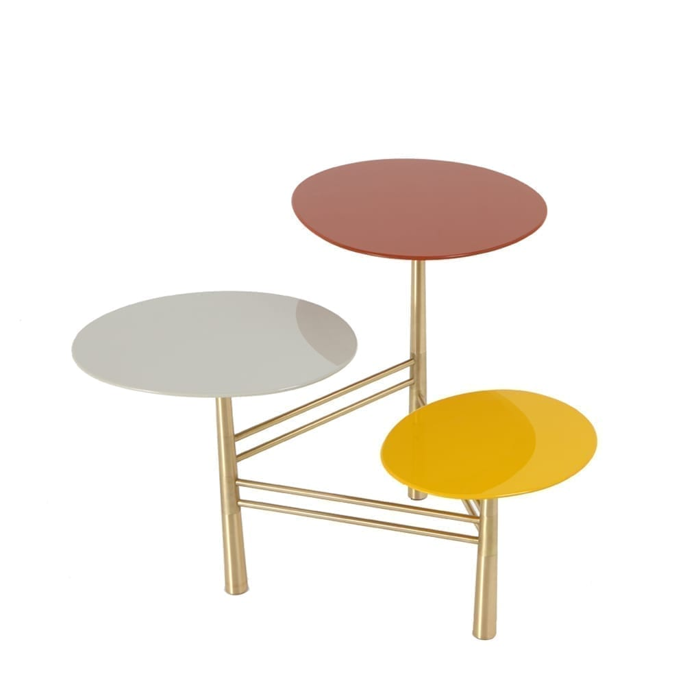 The Invisible Collection Pebble Side Table Nada Debs