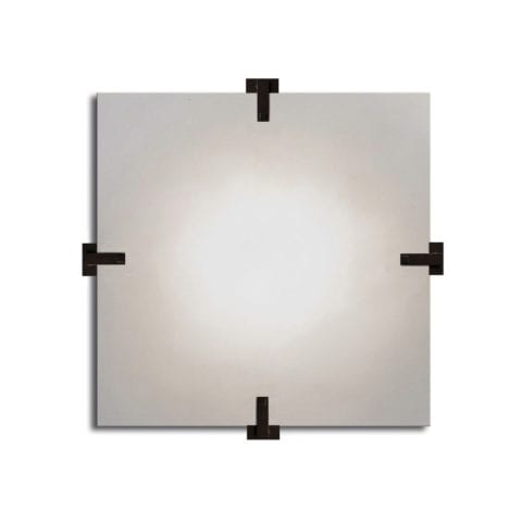 The Invisible Collection Sandrine Square Wall Lamp CSLB Studio
