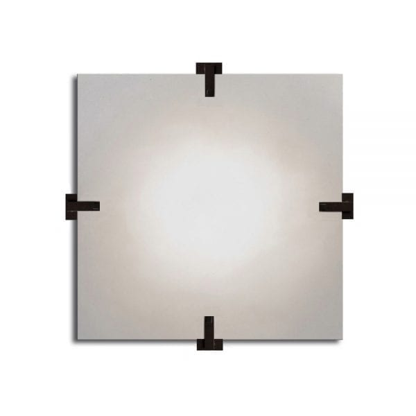 Sandrine Square Wall Lamp by Laurent Bourgois for CSLB Studio - The Invisible Collection