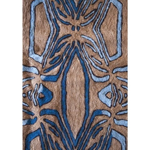 The Invisible Collection Turtle Blue Rug Federica Tondato
