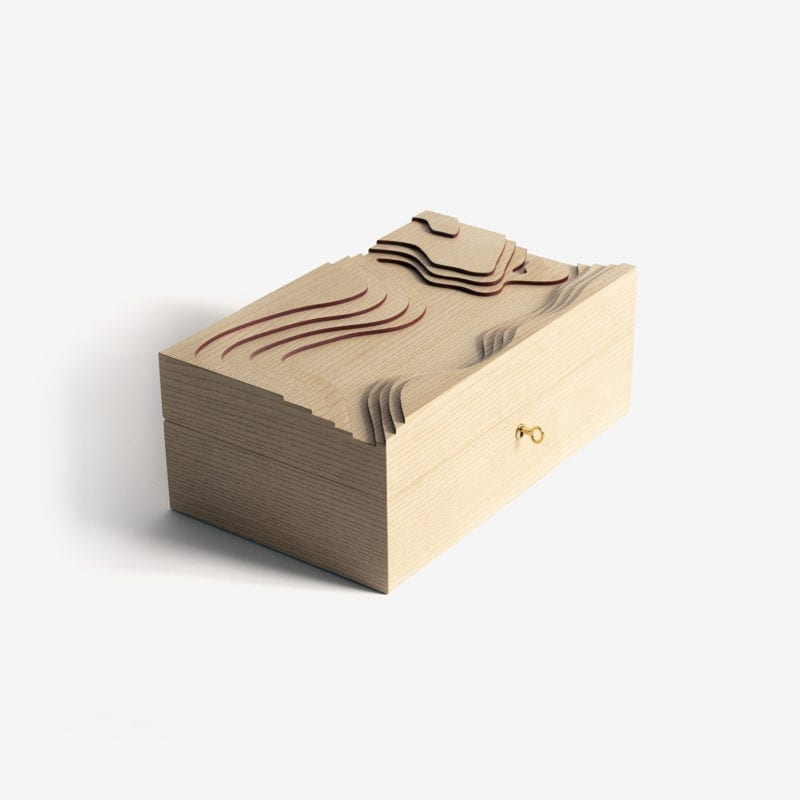 The_Invisible_Collection_Creations_Dragonfly_Topography_Cigar_Box