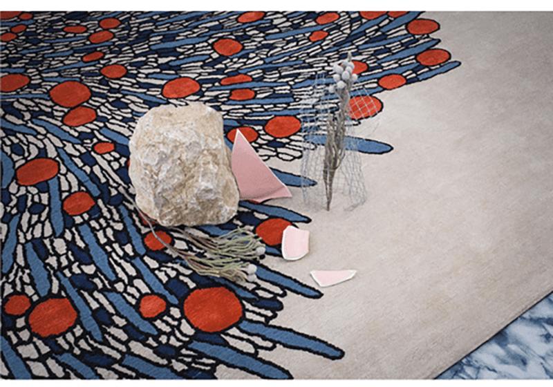 Tapis Bouquet par Atelier Février - The Invisible Collection