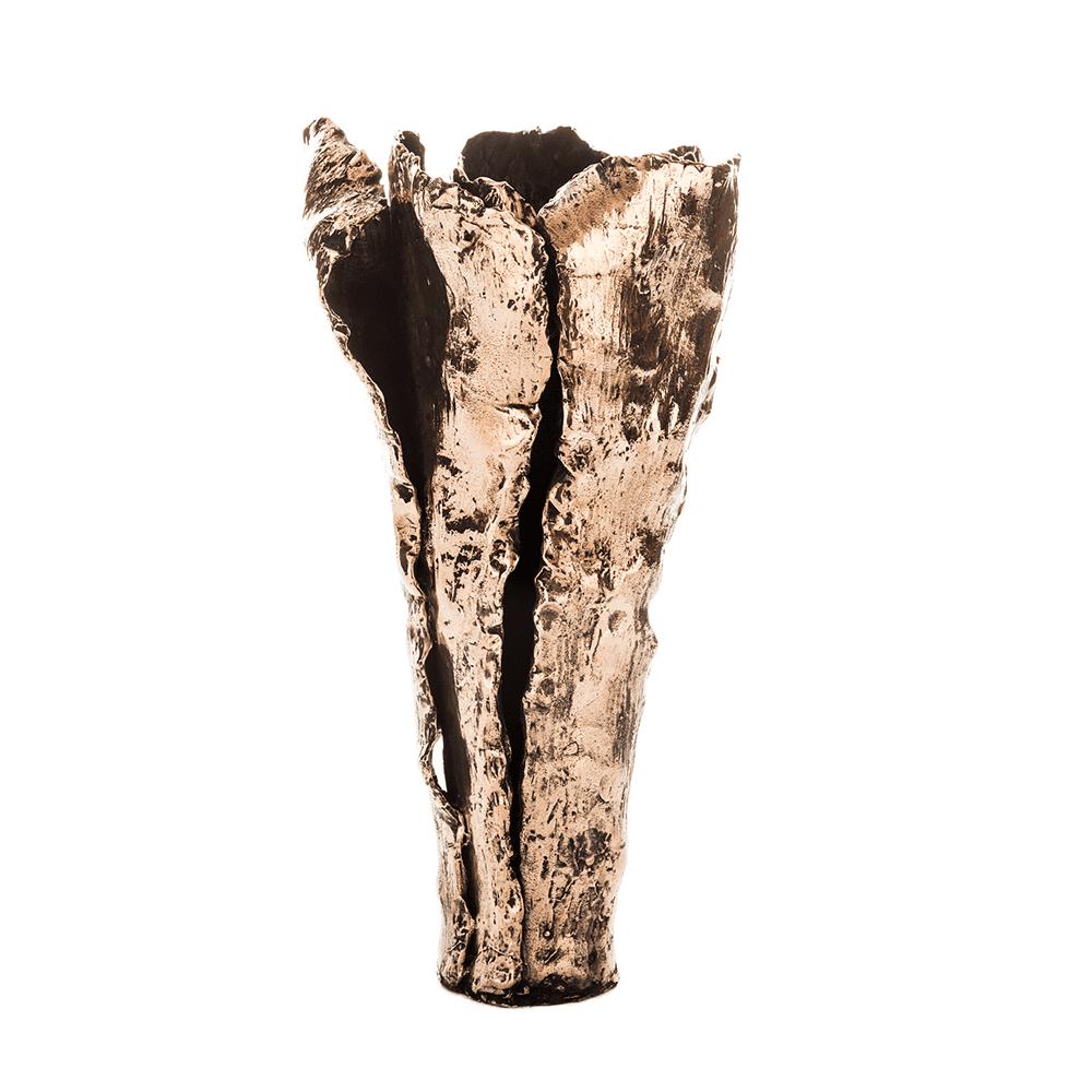 The Invisible Collection Bronze Vase Osanna Visconti