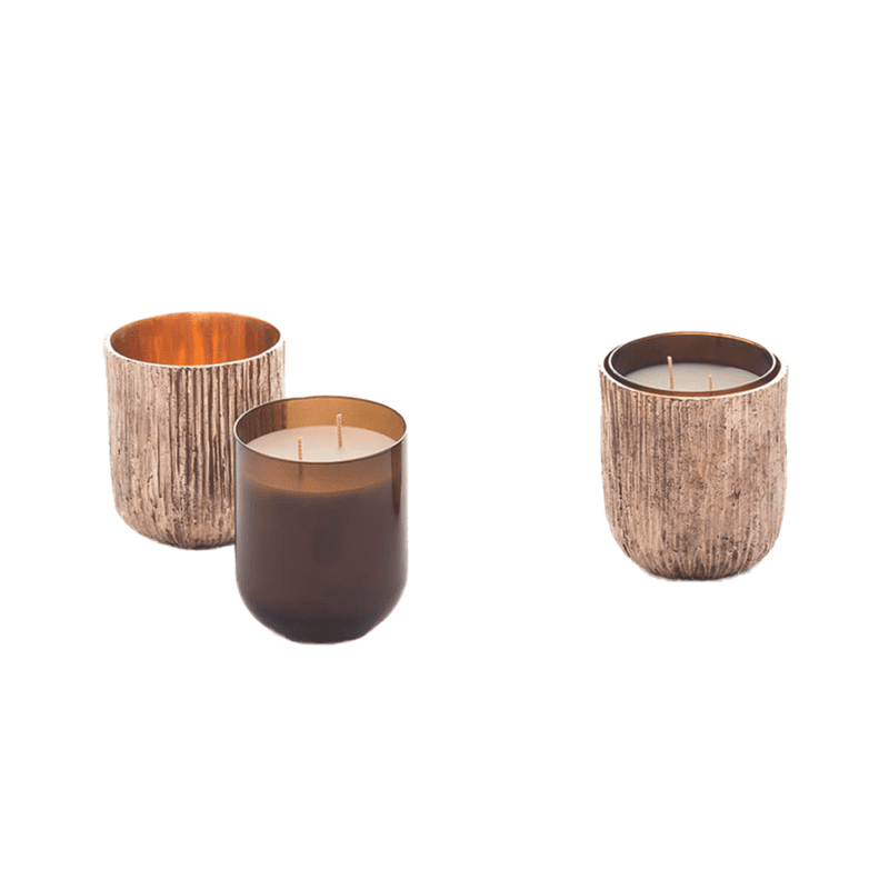 The Invisible Collection Bronze Scented Candle Set Osanna Visconti