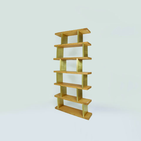 The Invisible Collection Scattered Shelving by Nada Debs