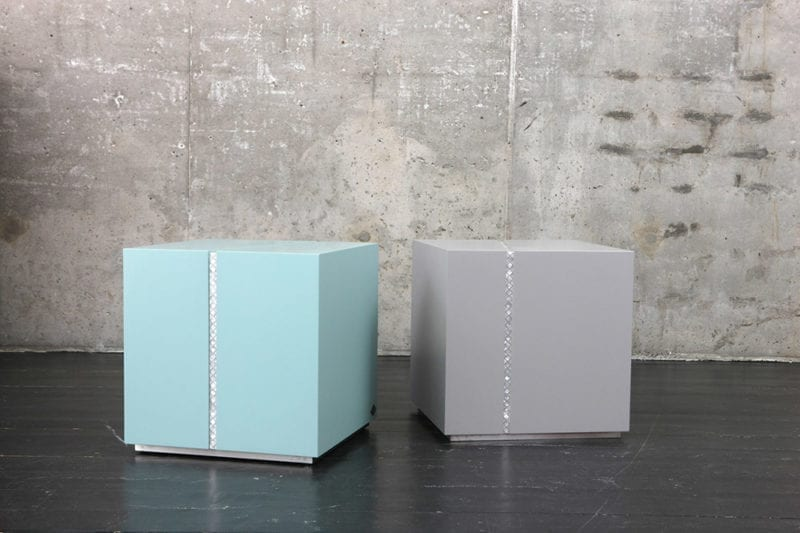 Draw The Line Bedside Table by Nada Debs