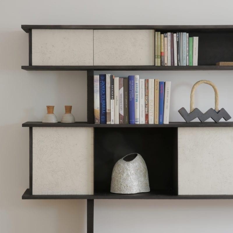Bibliothèque Jonathan par Emmanuelle Simon - The invisible Collection