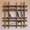 The Invisible Collection Funquetry Shelving Unit by Nada Debs