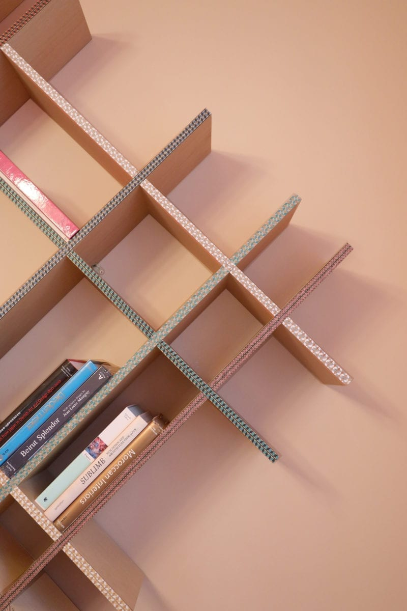 Funquetry Shelving Unit by Nada Debs