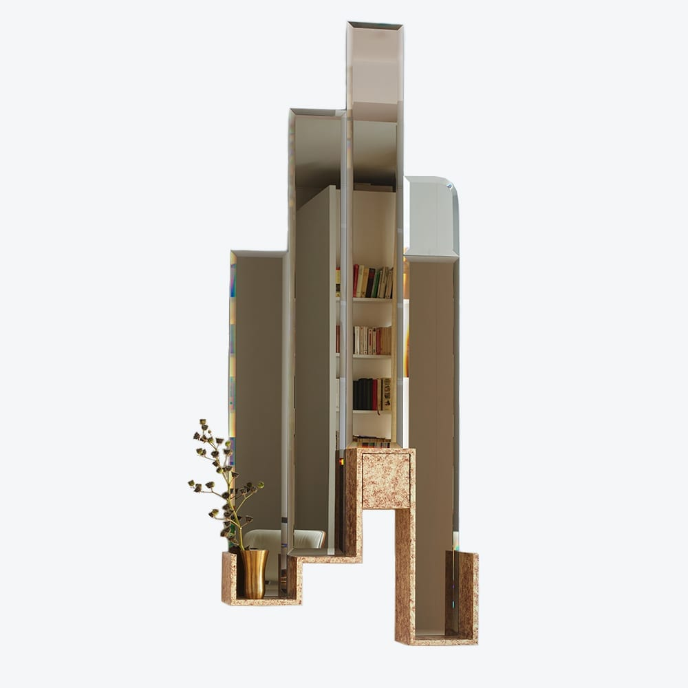 The Invisible Collection Console Mirror Elliott Barnes