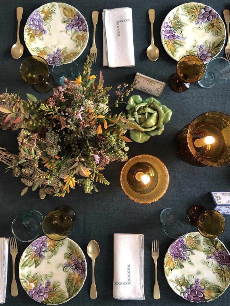 The Invisible Collection Provencal Dinner Set for 12 Diner en Ville