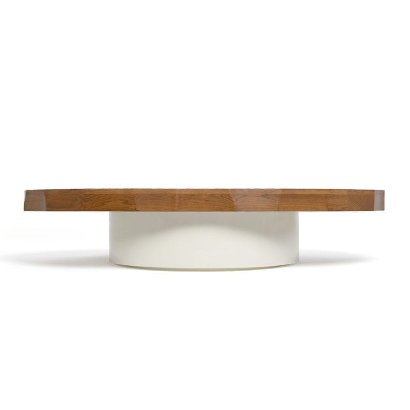 The Invisible Collection Craft Oval Table Pierre Augustin Rose